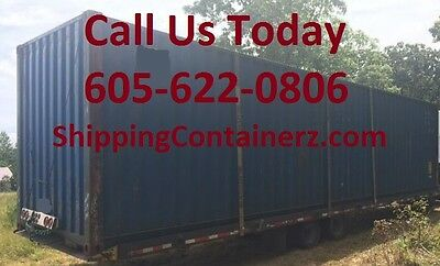 40ft Hc Shipping Container Storage Container Conex Box In Savannah Ga