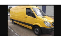 MAN AND VAN SERVICES. FRIENDLY AND RELIABLE. High roof van.