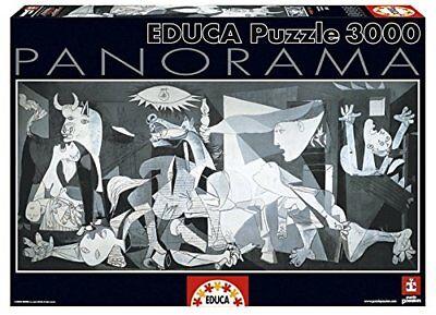 Educa 11502. Guernica Pablo Picasso .Puzzle panorámico de 3000 piezas. 144x68cm