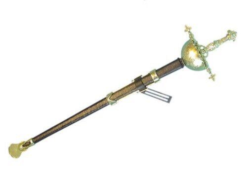 Musketeer Sword Fancy Dress Accessory for Cavalier Fancy Dress Accessory
