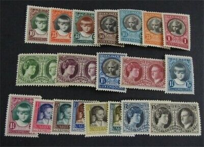 nystamps Luxembourg Stamp # B20//B44 Mint OG H $32   L23y656