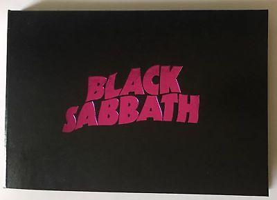 BLACK SABBATH THE END VIP TOUR BOOK Limited & Number RARE NEW ORIGINAL BO