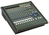 CONSOLE AMPLIFIEE YORKVILLE AP812 SPEAKERS MACKIE S215.