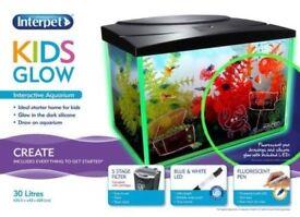 Kids Glow Interpet Aquarium (30 Litre & 16 Litre)