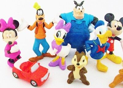 MICKEY MOUSE CLUBHOUSE Figure Set DISNEY PVC TOY Cake ...