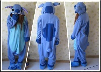 Lilo and Stitch Costume Kigurumi Animal Cosplay Party  Pajamas Sleepwear - Party Animal Costume