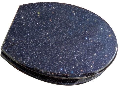 black glitter toilet seat ebay. Black Bedroom Furniture Sets. Home Design Ideas
