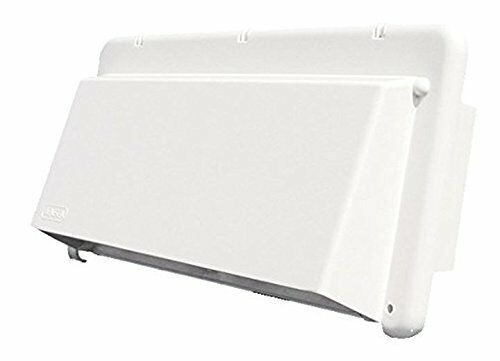 Heng's J116AWH-C Bright White Exhaust Vent Cover RV, Trailer & Camper Parts NEW