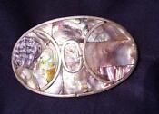 Mexico Sterling Belt Buckle