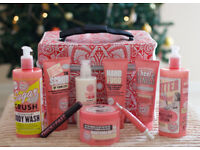 NEW.Soap and Glory Yule Monty gift set with limited edition Jonathan Saunders bag.