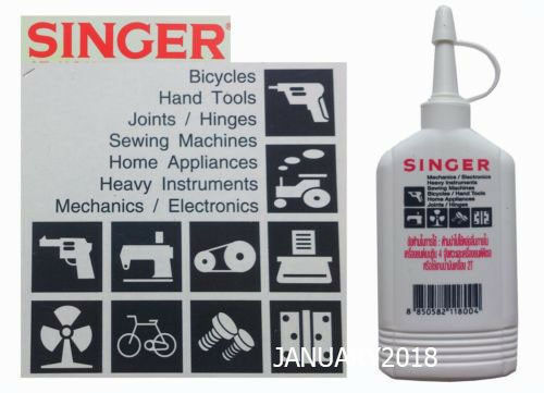 SINGER OIL LUBRICANT CHAIN BICYCLE SEWING MACHINE FAN MOTOR