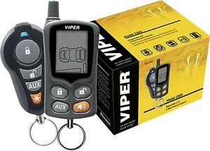 Viper 2 way - 1500 ft Range Car security and keyless entry