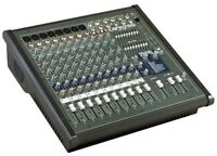 CONSOLE AMPLIFIEE YORKVILLE AP812 SPEAKERS MACKIE