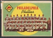 1959 Topps 8 Phillies Team