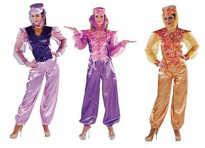 Harem Kostüme (Harem Dame 1001Nacht Kleid Kostüm Damen Bollywood Orient Alibaba Prinzessin Sari)