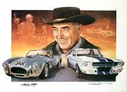 Carroll Shelby Signed