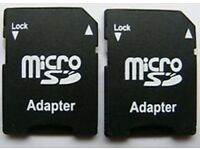 MICRO SD SDHC MEMORY CARD ADAPTOR ADAPTER CONVERTER TO STANDARD SD