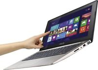 """ASUS S400C TOUCHSCREEN 14"""" ultrabook i5 8GB 640GB+OFFICE 2013"""