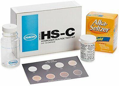 Hach 2537800 Hydrogen Sulfide Test Kit Model Hs-c