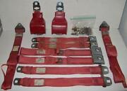 1969 Mustang Seat Belts