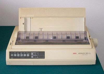 OKI MicroLine 321 Elite - 9 PIN DOT Matrix Printer