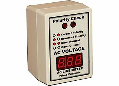 Prime Products 12-4058 Ac Power Line Monitor