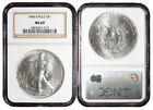1986 NGC Certified Silver Bullions