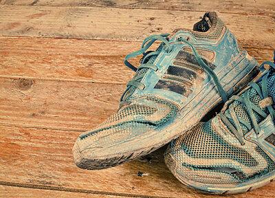 Auch ausgelatscht sind Deine Sportschuhe noch viel wert. (© Thinkstock über The Digitale)
