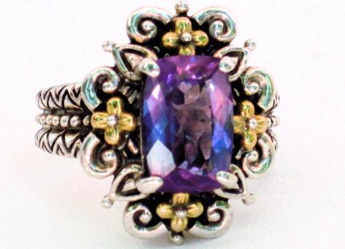 Barbara Bixby Amethyst Ring Ebay