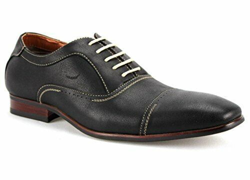 Ferro Aldo Men's 19285 Cap Toe Casual Dress Oxford Shoes