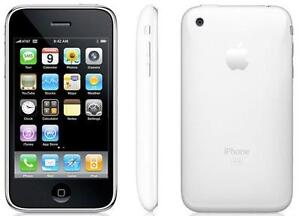 100% FONCTIONNEL APPLE IPHONE 3GS 16GB TELUS WIFI TOUCHSCREEN 4G MUSIC GSM iOS CAMERA 3.15MP BLUETOOTH GPS MUSIQUE 5HRS