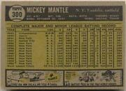 1961 Topps Mickey Mantle 300