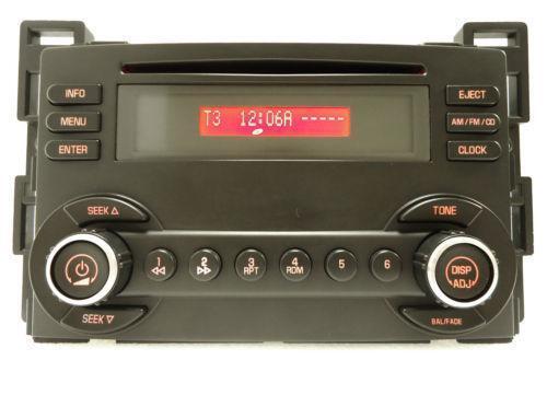 Pontiac G6 Cd Player Ebayrhebay: Pontiac G6 Factory Radio At Gmaili.net