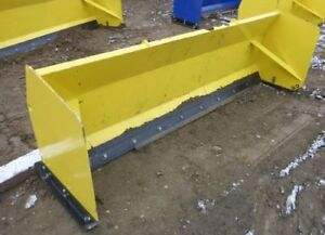 Skid Steer Quick Attach Snow Pushers
