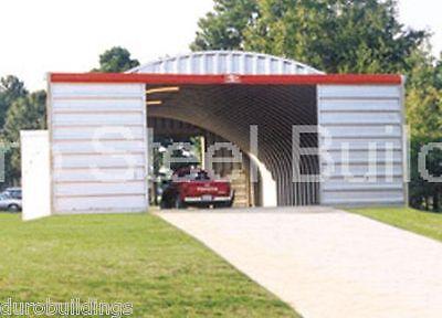 Durospan Steel 40x40x16 Metal Diy Building Kit Farm Storage Shed Factory Direct