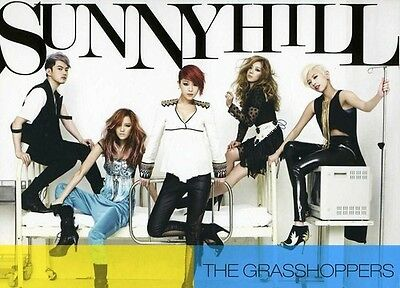 Sunny Hill   Grasshoppers  New Cd  Asia   Import