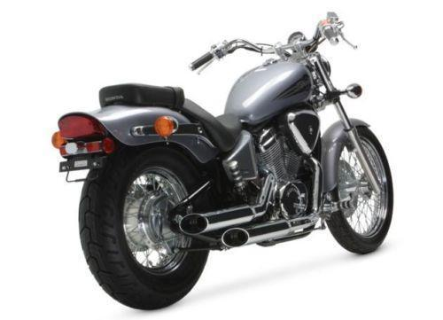 honda shadow 600 exhaust ebay. Black Bedroom Furniture Sets. Home Design Ideas