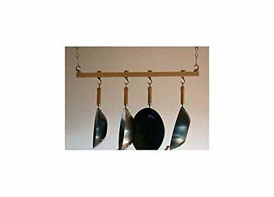 Track Rack Ceiling Pot Rack Finish: Natural (Bamboo Ceiling Pot Rack)