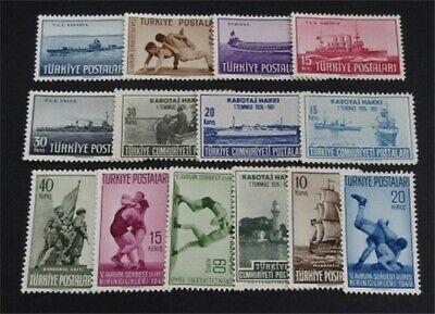 nystamps Turkey Stamp # 2440.2441 Mint OG H $50   L23y1216