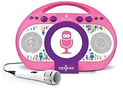 Gebraucht, WIE NEU: Karaoke-Player Singing Machine iSM398PP Karaoke Machine Spaß rosa lila gebraucht kaufen  Versand nach Austria