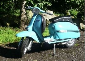 1977 lambretta GP150 New restoration 12 months MOT UK reg'd Only 11 miles. SEE VIDEO! LOOK! WOW!