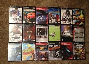 Classic PS2 Games for Sale! The more you buy, the more you save!