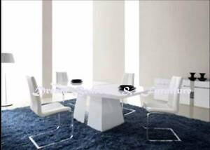 new DINING TABLES (SETS) marble, glass, gloss EZI-PAY from $5p/w Bundall Gold Coast City Preview