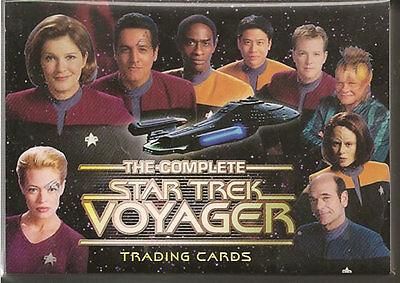 Complete Star Trek Voyager Trading Cards Base Set