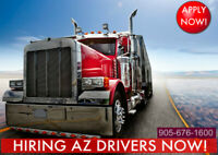 Hiring AZ Drivers US California Run 60c/mile Dedicated