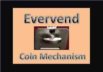 Evervend Bulk Candy Gumball Vending Machine Parts Coin Mechanism