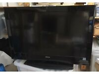 """HITACHI 37"""" LCD 1080P HD READY BUILT IN FREEVIEW FLATSCREEN T.V FOR SALE"""