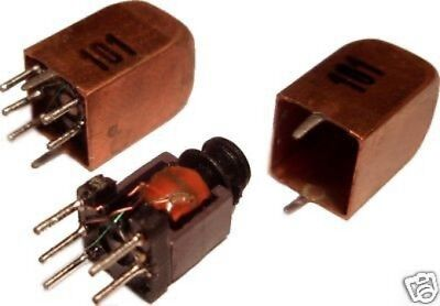 3pcs Variable Inductor Rf Coil 45uh - 100uh Litz Wire Ham Radio Hobby Toko