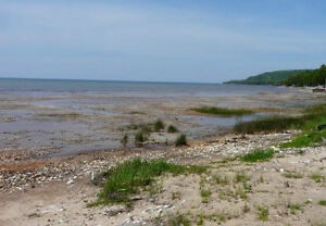 Waterfront lot at Sunny side beach.