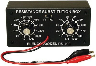 ELENCO K-37 Resistor Substitution Box Kit NEW!!!